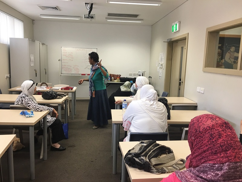 Arabic community group, Cumberland waste education program