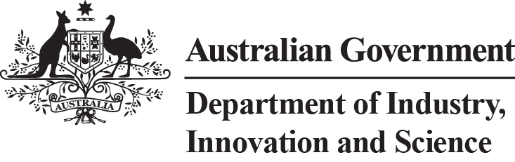 Department of Industry Innovation and Science logo