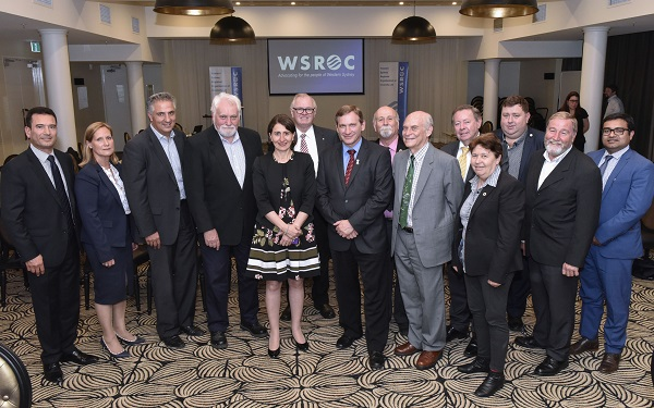 WSROC Board of Directors with NSW Premier the Hon. Gladys Berejiklian, November, 2017.