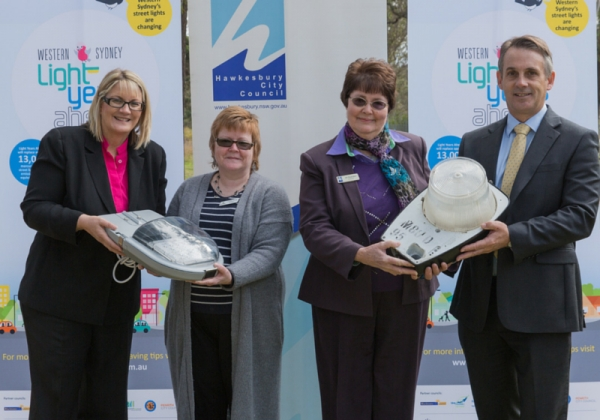 Attendees of Light Years Ahead Hawkesbury City Council launch