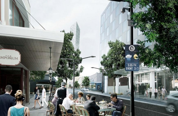 Image of Smart Street concept on Phillip Street