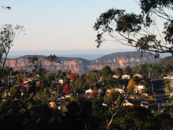 The Blue Mountains: A city within a World Heritage Area.
